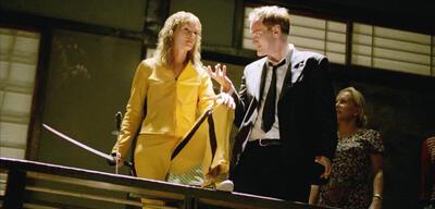 Uma Thurman und Quentin Tarantino