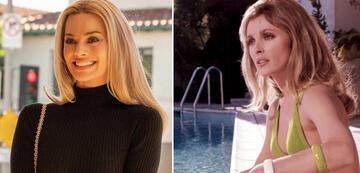 Margot Robbie und Sharon Tate