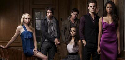 Der Cast von Vampire Diaries