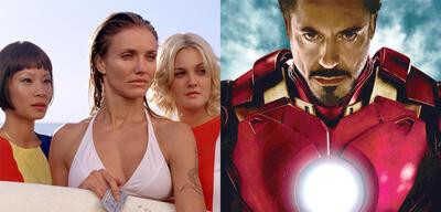 3 Engel für Charlie, Iron Man 2