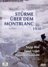 Stürme über dem Mont Blanc - Poster