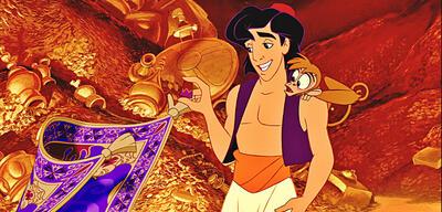Aladdin in der Höhle der Wunder