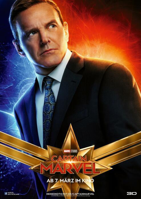 Captain Marvel mit Clark Gregg