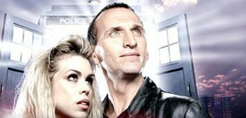 Bild zu:  Billie Piper und Christopher Eccleston in Dr. Who