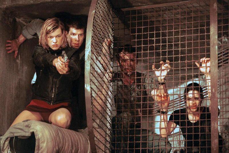 Resident Evil mit Milla Jovovich, Michelle Rodriguez, James Purefoy und Eric Mabius