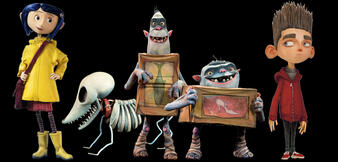 Die wichtigsten Figuren des Laika-Studios