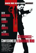 Geständnisse - Confessions of a Dangerous Mind Poster