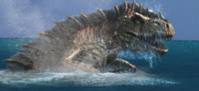 Poseidon Rex auf der Jagd