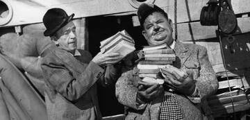 Laurel und Hardy in ihrem letzten Film, Dick und Doof erben eine Insel