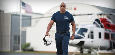 Dwayne Johnson in San Andreas