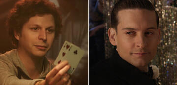 Player X: Michael Cera in Mollys Game / Tobey Magure in Der große Gatsby