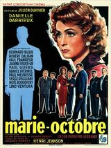 Marie-Octobre - Poster