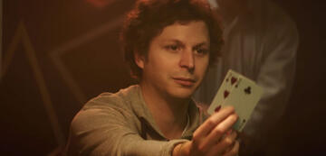 Michael Cera als Player X in Molly's Game