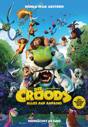 Die Croods - Alles auf Anfang Poster