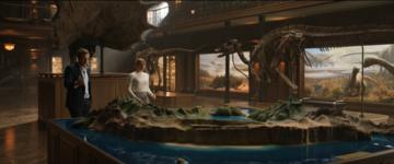 Das Modell des Lockwood Sanctuary in Jurassic World 2