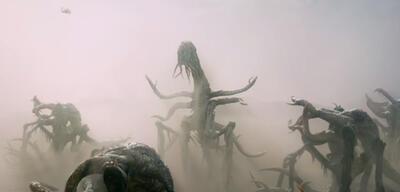 Wüsten-Monster. Szene ausMonsters 2: Dark Continent