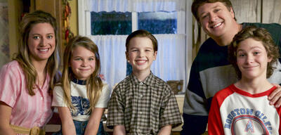 Das Young Sheldon-Ensemble
