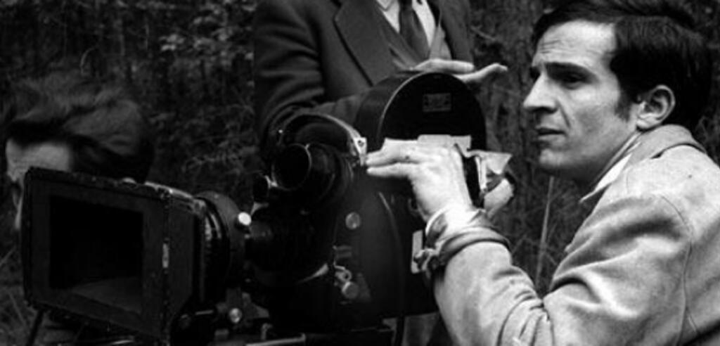 François Truffaut bei seiner Lieblingsbeschäftigung