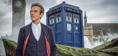 Peter Capaldi als Doctor Who