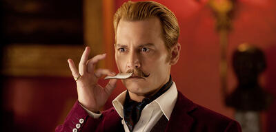 Johnny Depp ist Charlie Mortdecai - Ab 22. Januar im Kino