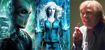 Bild zu:  The Flash-Bösewicht Zoom, Killer Frost und Trickster