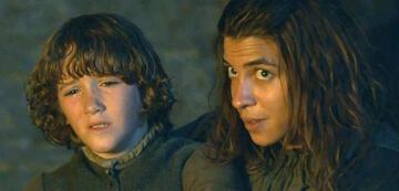 Game of Thrones schickt Rickon mit Osha durch Westeros