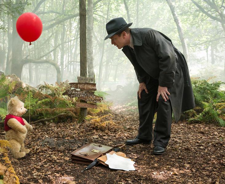 Christopher Robin  mit Ewan McGregor