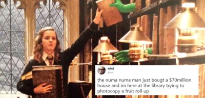 Harry Potter/guter Dril-Tweet