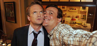 Neil Patrick Harris und Jason Segel in How I Met Your Mother