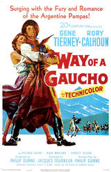 Way of a Gaucho - Poster