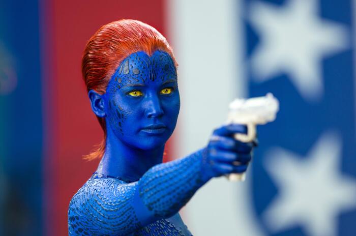 X-Men: Zukunft ist Vergangenheit mit Jennifer Lawrence