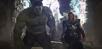 Bild zu:  Hulk und Thor