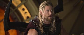 Hier hat Thor noch lange Haare...