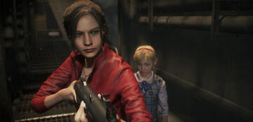 Claire Redfield in Resident Evil 2