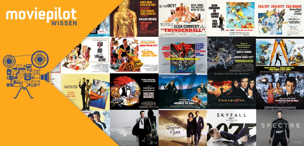 Wie viele James Bond-Filme gibt es?
