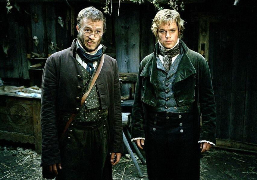 The Brothers Grimm mit Heath Ledger und Matt Damon