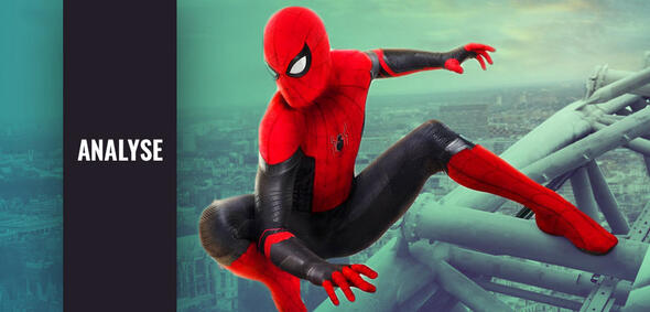 Spider-Man: Far From Home mit Tom Holland