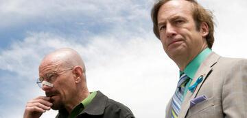 Walter White und Saul Goodman in Breaking Bad