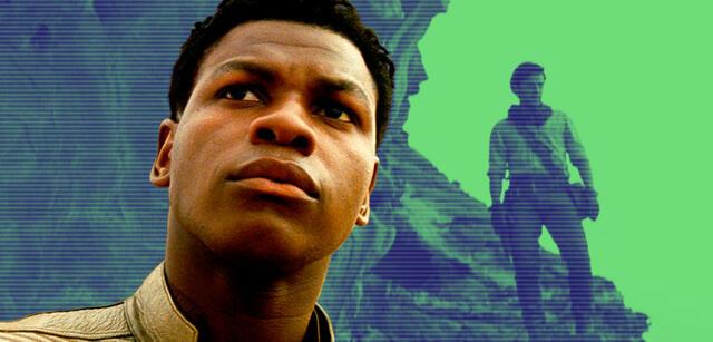 John Boyega als Finn in Star Wars 9: Der Aufstieg Skywalkers