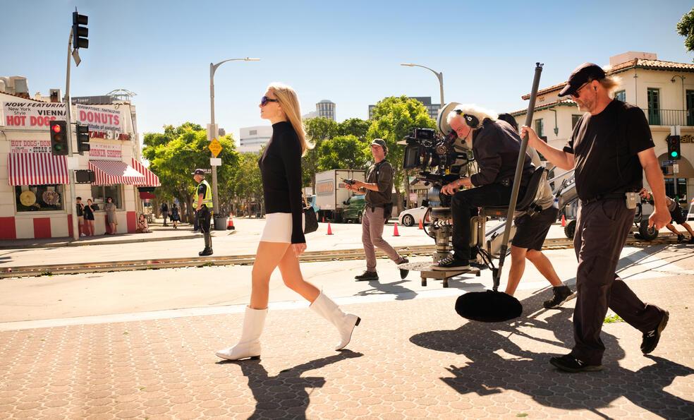 Once Upon a Time... in Hollywood mit Margot Robbie und Robert Richardson