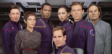 Die Crew der Enterprise-NX