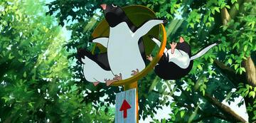 Drei Pinguine on Tour