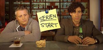Bild zu:  Episodes, Staffel 5: Matt LeBlanc und Stephen Mangan