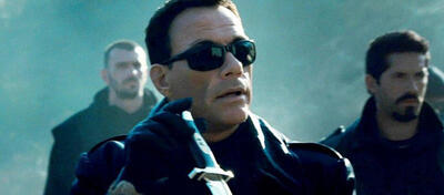 Jean-Claude van Damme in The Expendables 2