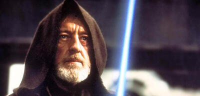 Obi-Wan Kenobi in Form vonAlec Guinness