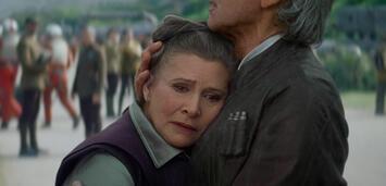 Bild zu:  Carrie Fisher als Leia in Star Wars: Episode 7 - Das Erwachen der Macht