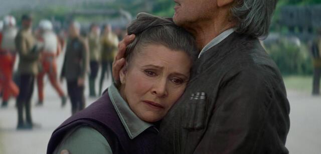 Carrie Fisher als Leia in Star Wars: Episode 7 - Das Erwachen der Macht