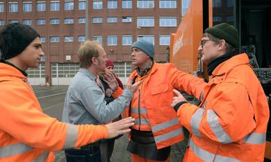 Die Drei von der Müllabfuhr - Dörte muss weg mit Uwe Ochsenknecht, Daniel Rodic, Rainer Strecker und Jörn Hentschel - Bild 2