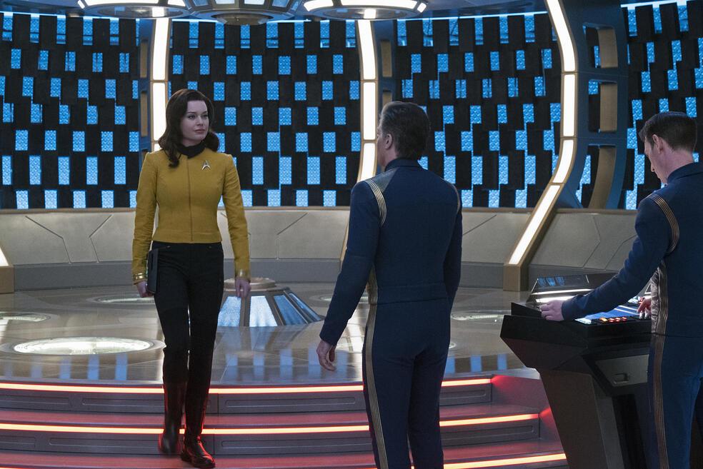Star Trek: Discovery - Staffel 2 mit Rebecca Romijn