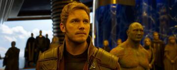 Chris Pratt in seiner bekanntesten Rolle aus Guardians of the Galaxy